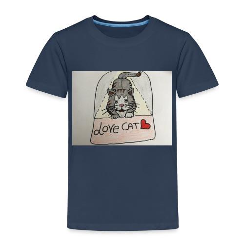 Love cat - Maglietta Premium per bambini