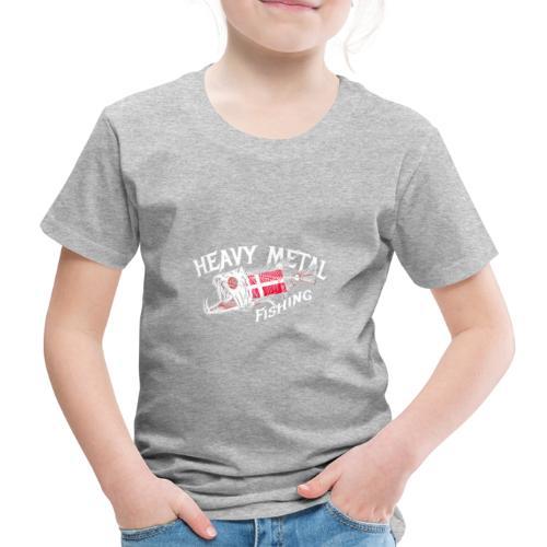 heavy metal fishing Dänemark - Kinder Premium T-Shirt