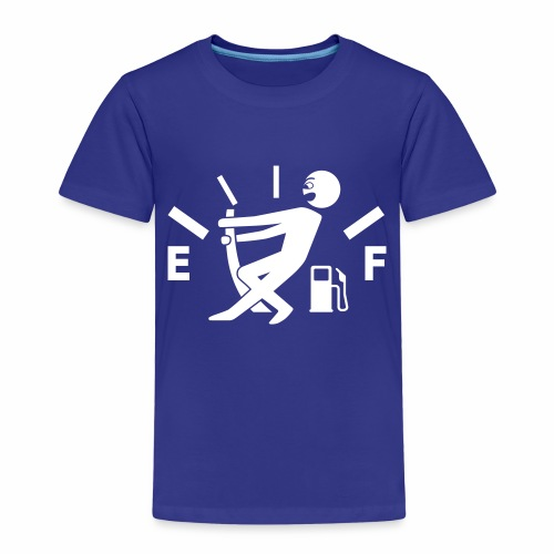 Empty tank - no fuel - fuel gauge - Kids' Premium T-Shirt