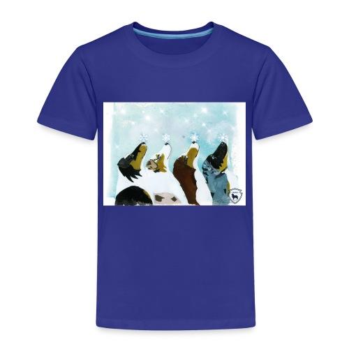 NMASK-trøye med kunsttrykk malt av Tanja Vean - Premium T-skjorte for barn