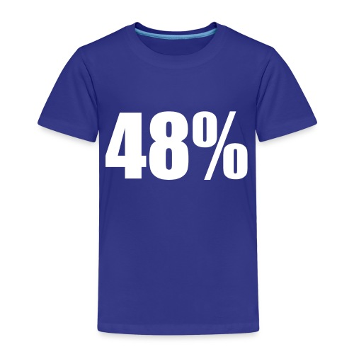 48% Red - Kids' Premium T-Shirt