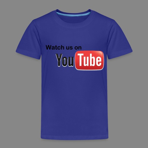 youtube hd logo by marcosrstone d37ot4e png - Kinderen Premium T-shirt
