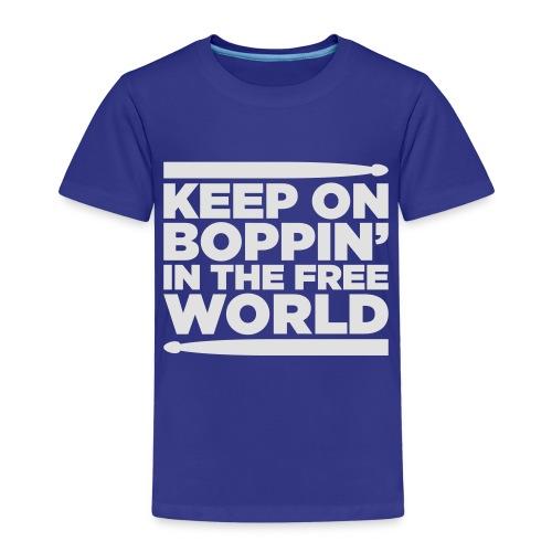 Keep on Boppin' - Kids' Premium T-Shirt