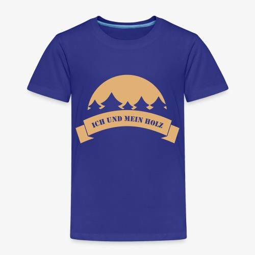 Ich und mein Holz - Kinder Premium T-Shirt