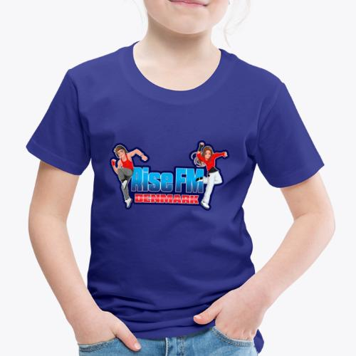 Rise FM Denmark Full Logo - Børne premium T-shirt