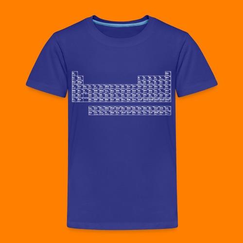 periodic white - Kids' Premium T-Shirt