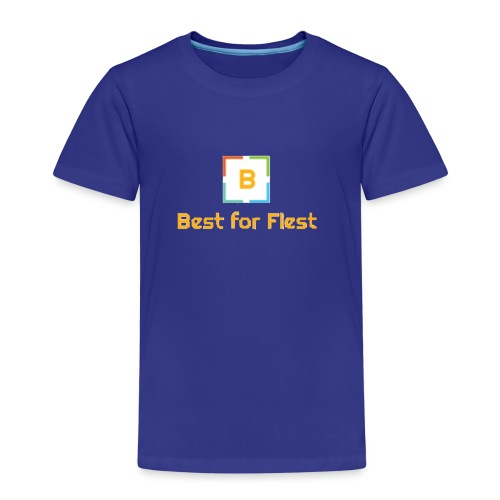 Best for Flest logo - Premium T-skjorte for barn