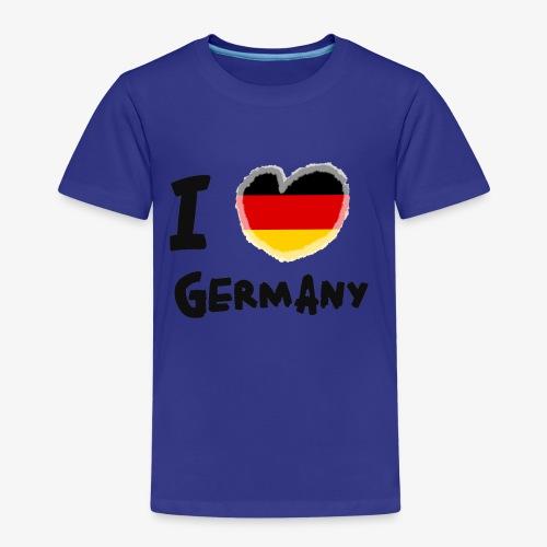 I Love Germany!!! - Kinder Premium T-Shirt
