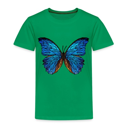 PAPILLON - LOW POLY (Outline) - T-shirt Premium Enfant
