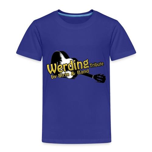 Logo Gitarre Werding - Kinder Premium T-Shirt