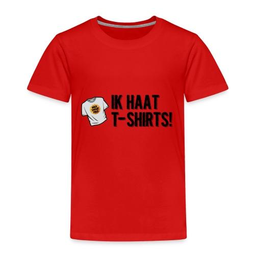 haat aan de tshirts - Kinderen Premium T-shirt