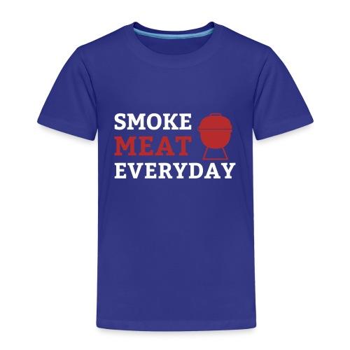 smoke meat everyday shirt - Kinder Premium T-Shirt