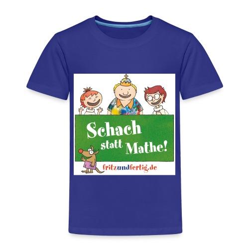 Schach statt Mathe - Kinder Premium T-Shirt