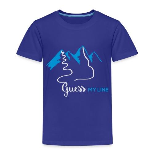 GUESSMYLINE - Kinder Premium T-Shirt