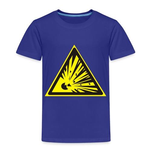Uwaga! Materiał Wybuchowy! - Koszulka dziecięca Premium