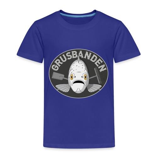 Grusbanden - Børne premium T-shirt