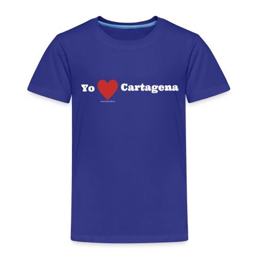 Yo quiero Cartagena - Maglietta Premium per bambini