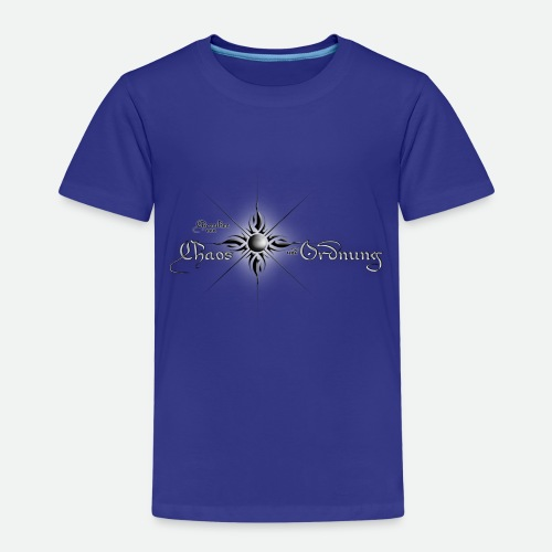 Chroniken Schriftzug hell - Kinder Premium T-Shirt