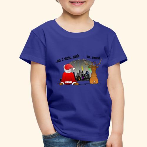 soon it starts - Kinder Premium T-Shirt