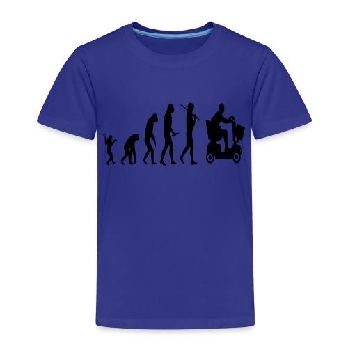 Scootmobielevolution - Kinderen Premium T-shirt