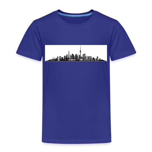 Berlin City Skyline - Kinder Premium T-Shirt