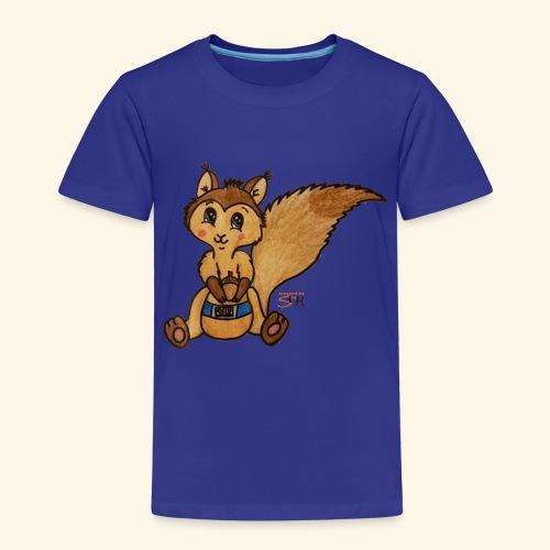 zuckereichhörnchen frei - Kinder Premium T-Shirt