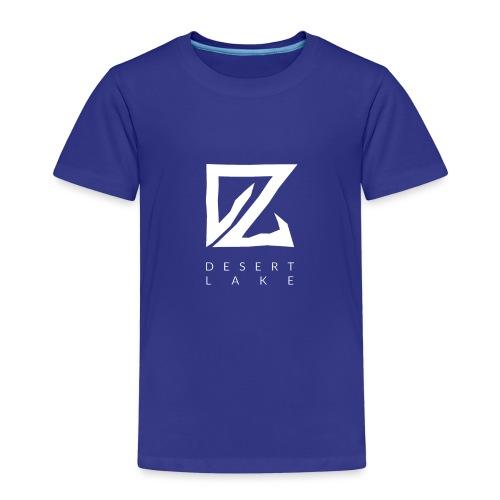 Desert Lake Logo Premium Men's Shirt Black - Kinder Premium T-Shirt