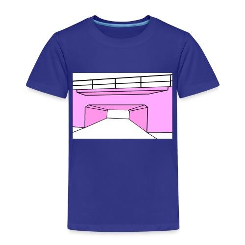 Pink Tunnel - Premium-T-shirt barn