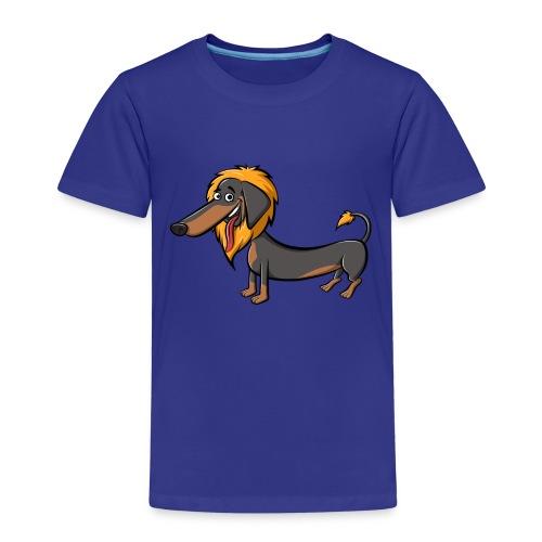 daschundtransparency 2 - Kinder Premium T-Shirt