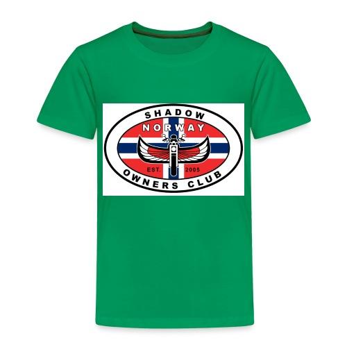 SHOC Norway Patch jpg - Premium T-skjorte for barn