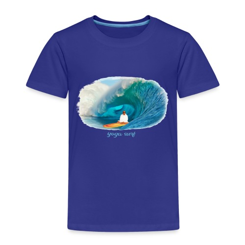 Yoga surf - Premium-T-shirt barn