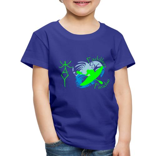 Paddlers Paradise - Kinder Premium T-Shirt