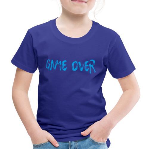 Game Over Nerd Gamer Shirt Geschenk - Kinder Premium T-Shirt