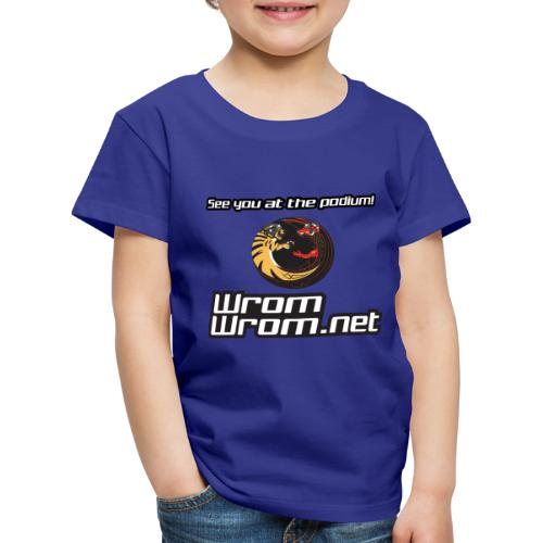 See you at the podium! - Kids' Premium T-Shirt