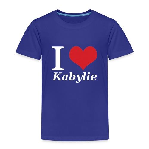 I Love Kabylie Blanc - T-shirt Premium Enfant