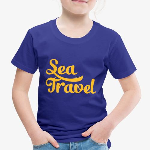 sea travel - T-shirt Premium Enfant