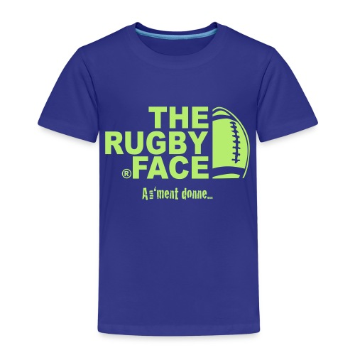 the face of rugby - T-shirt Premium Enfant