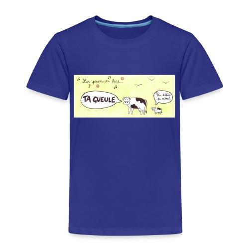 Vache pas laitière - T-shirt Premium Enfant