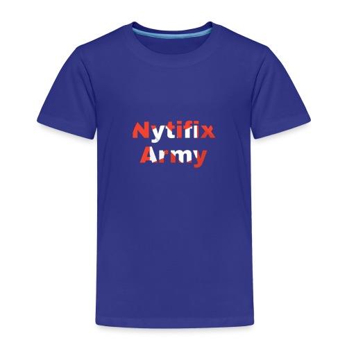 Nytifix Army T-Shirt - Kinder Premium T-Shirt