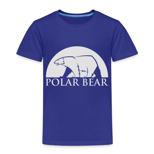 Polar Bear blanc - T-shirt Premium Enfant