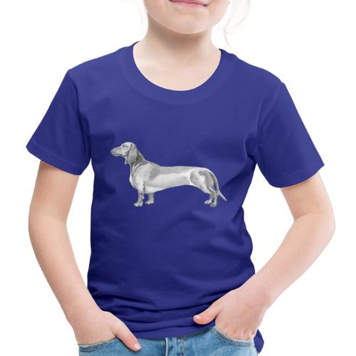 Dachshund smooth haired - Børne premium T-shirt