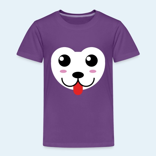 Husky perro bebé (baby husky dog) - Camiseta premium niño