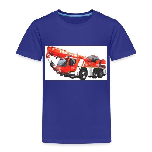 Feuerwehrkran Leipzig - Kinder Premium T-Shirt
