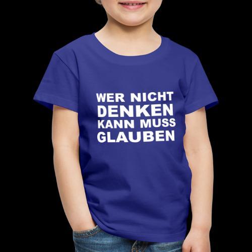 glauben - Kinder Premium T-Shirt