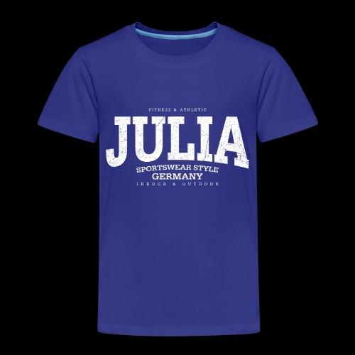 Julia (white oldstyle) - Kinder Premium T-Shirt