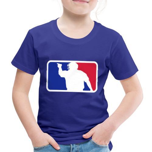 Baseball Umpire Logo - Kids' Premium T-Shirt