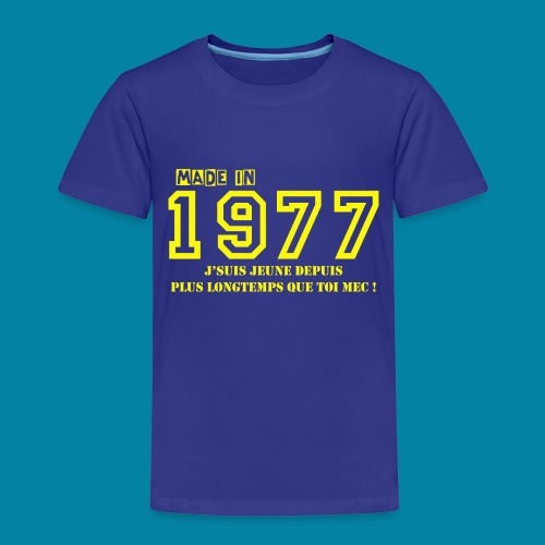 made in 1977 - T-shirt Premium Enfant