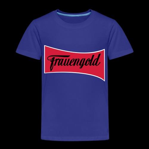 Frauengold 3col - Kinder Premium T-Shirt