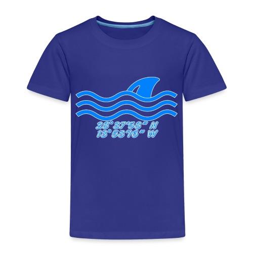 Koordinaten - Kinder Premium T-Shirt