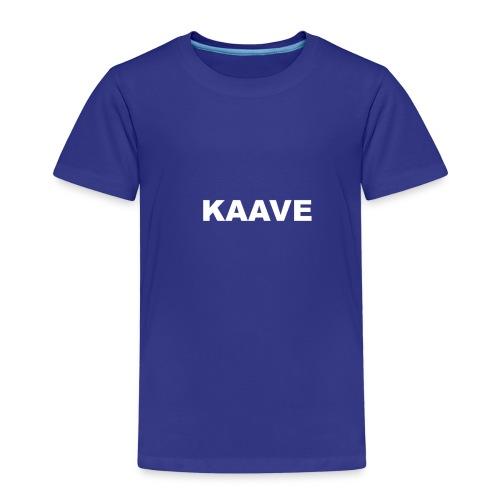 KAAVE logo merch - Premium-T-shirt barn